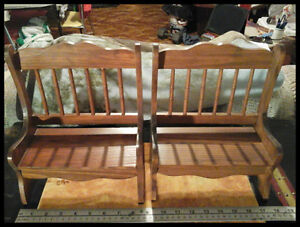2 Wooden Benches for Dolls,Crafts, New.2/$15.00