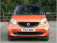 2017 smart fortwo Smart Fortwo Coupe 1.0 Passion 2dr Coupe Petrol Manual