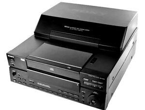 SONY CDP-CX100 CD-100 Disk MegaStorage Stereo Cd Player/Changer