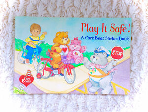 Complete Unused Vintage Care Bears Sticker Book Album 80s