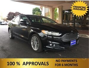 2013 Ford Fusion  LOADED !    ONLY $79.92 A WEEK + TAX OAC - Windsor Region Ontario image 3