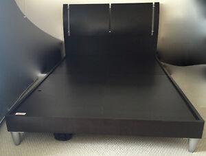 FULL SIZE BED FRAME AND NIGHT TABLE