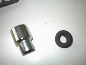 VALVE COVER PCV GROMMET AND ADApTER FROM HOLE TO PIPE$5E