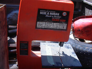 BLACK AND DECKER BAND SAW DRILL ACCESSORY $10.00