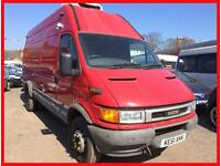 IVECO 65C17 XLWB (2001 51 REG)+ EXTRA HIGH ROOF 2.8 TD TWIN WHEELS