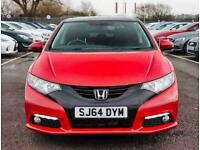 2014 Honda Civic 1.8 i-VTEC SR 5dr Hatchback Petrol Manual