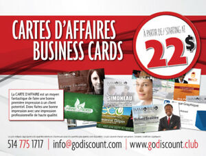 Cartes d'affaires - Business Cards