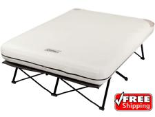 Coleman Camping Cot, Air Mattress Bed Folding Camp Cot w ...