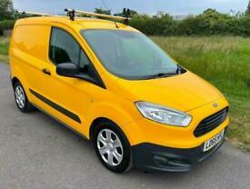 2015 Ford Transit Courier 1.6TDCi Trend Yellow Van *39,500 Miles* NO VAT!