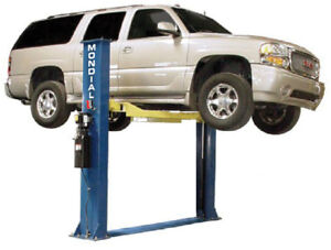 2 POST AUTOMOTIVE HOIST (9,000LB Baseplate)