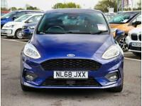 2018 Ford Fiesta Ford Fiesta 1.0 E/B 140 ST-Line 5dr 18in Alloys Hatchback Petro