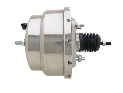 "NEW UNIVERSAL GM CHEVY CAR TRUCK 8"" DUAL CHROME POWER BRAKE BOOSTER FOR SALE"