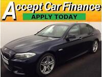 BMW 525 2.0TD auto 2012MY d M Sport FROM £83 PER WEEK!