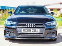 2019 Audi A4 35 TFSI Black Edition 4dr S Tronic Auto Saloon Petrol Automatic