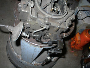 USED 4BBL ROCHESTER 4GC CARB FOR 57-58 OLDS COMPLETE $95.00