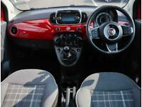 2016 Fiat 500 Fiat 500 1.2 Lounge 3dr Hatchback Petrol Manual