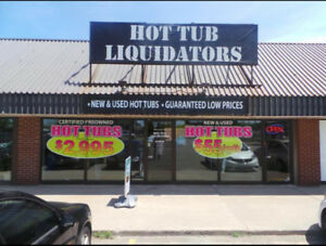 HOT TUB LIQUIDATORS****FALL SALE****