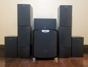 5.1 Speaker Package - Kef Q10 Q50, Reference 90, Mirage S10