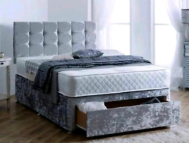 NEW DIVAN BEDS - FREE DELIVERY - ALL COLOURS