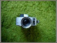 ELMO super. zoom lens 8 cine film camera