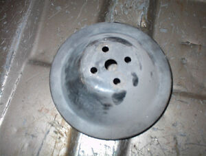 SB CHEV V8 PARTS $10.00 EACH PULLEY,FRONT COVERS,VALVE COVERS