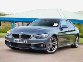 image for 2018 BMW 4 Series 420d [190] M Sport 5dr Auto [Professional Media] Hatchback Die