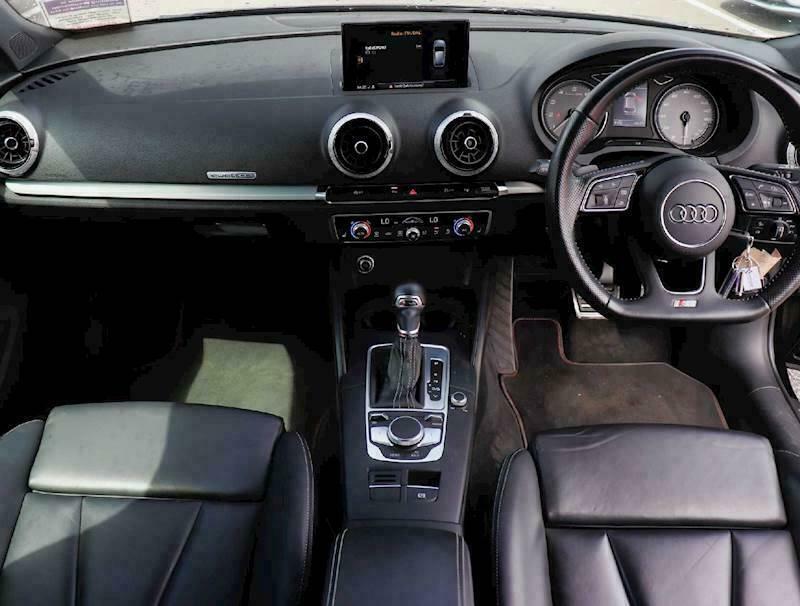 2016 Audi A3 S3 TFSI Quattro 3dr S Tronic Auto Hatchback Petrol Automatic