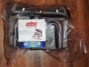*NEW*Coleman 6 Can Cooler-Insulated-Easy Clean-Adjustable Strap