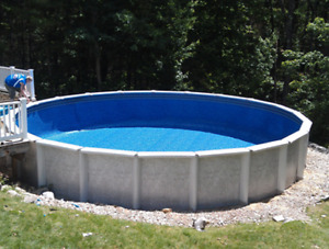 30' Foot Round Above Ground Pool