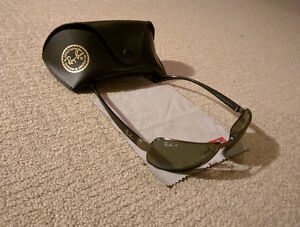 Ray-Ban Sunglasses - Polarized, Rectangle Frame. Mint Condition