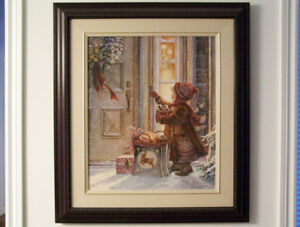 "Trish Romance ""Generous Heart"" Giclee -Large Framed"
