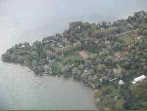 Terrain vue sur l'eau a Riviere-Beaudette