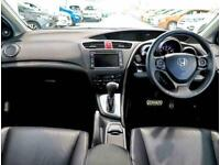2014 Honda Civic 1.8 i-VTEC SR 5dr Auto Hatchback Petrol Automatic