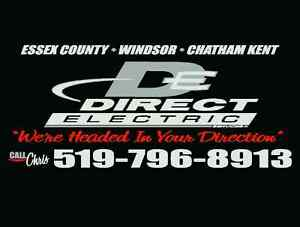 Electrician - Direct Electric Services Ltd  Windsor Region Ontario image 1