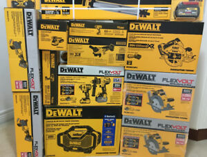 Brand new 20v Dewalt Brushless tools