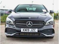 2019 Mercedes-Benz CLA DIESEL COUPE CLA 220d AMG Line Night Edition Plus 4dr Tip