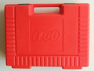 1980s RED LEGO Carrying Case /Storage Box