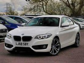 image for 2018 BMW 2 Series 218d Sport 2dr Step Auto [Nav] Coupe Diesel Automatic