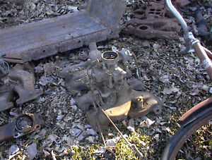 USED 1951,2 OLDS 303 2 BARREL CARB AND MANIFOLD 50.00