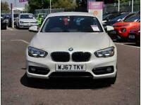 2017 BMW 1 Series BMW 1 118i 1.5 Sport 5dr Pro Nav Hatchback Petrol Manual