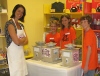 Kids parties at Clay for Kids
