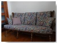 Sofa antique 3 places