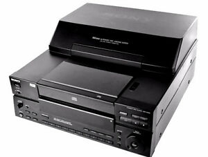 DISK MEGASTORAGE STEREO CD PLAYER/CHANGER SONY CDP-CX100 CD-‎‎10