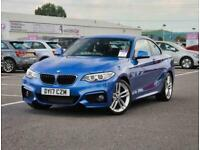 2017 BMW 2 Series BMW 2 Coupe 218i 1.5 M Sport 2dr Coupe Petrol Manual