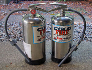 Cold Fire Extinguishers 2