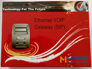20 x Ethernet VOIP Gateways (SIP) - New - $120 for All