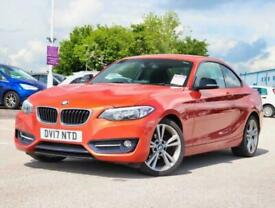 image for 2017 BMW 2 Series Bmw 2 Coupe 218d 2.0 Sport 2dr 18inAlloys Coupe Diesel Manual