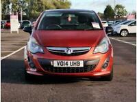 2014 Vauxhall Corsa Vauxhall Corsa 1.2 85 Limited Edition 3dr Hatchback Petrol M