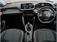 2020 Peugeot 208 Peugeot 208 1.2 PureTech 75 Active 5dr Hatchback Petrol Manual