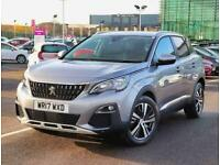 2017 Peugeot 3008 1.6 BlueHDi 120 Allure 5dr Estate Diesel Manual